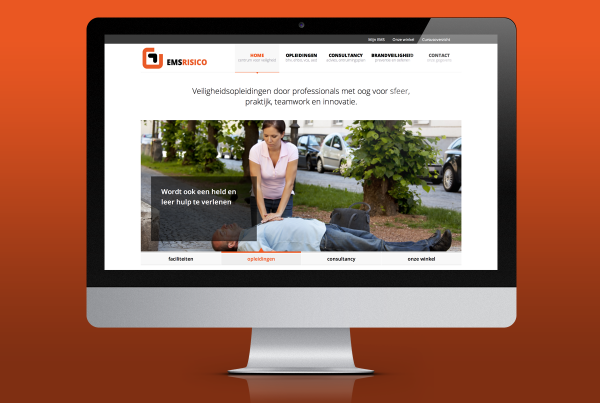 site ontwerp EMS risico