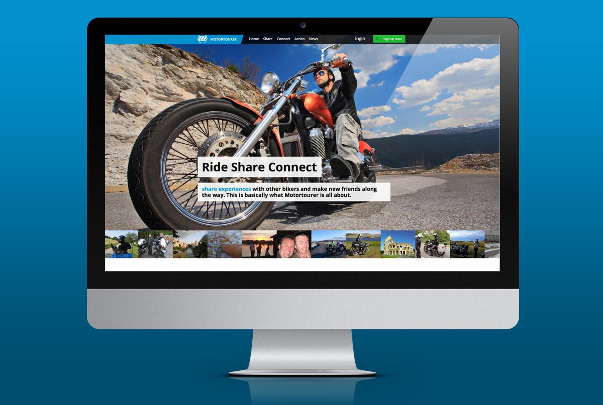 site ontwerp Motortourer