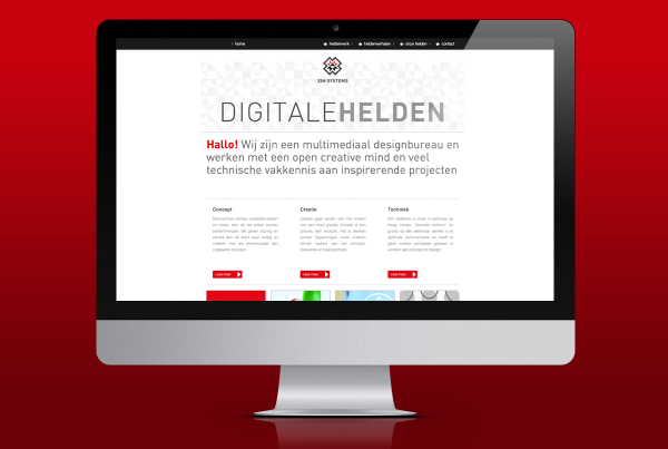 ontwerp ximsystems site